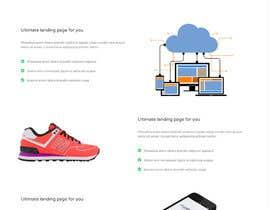 #8 untuk Design a landing page oleh piruchex