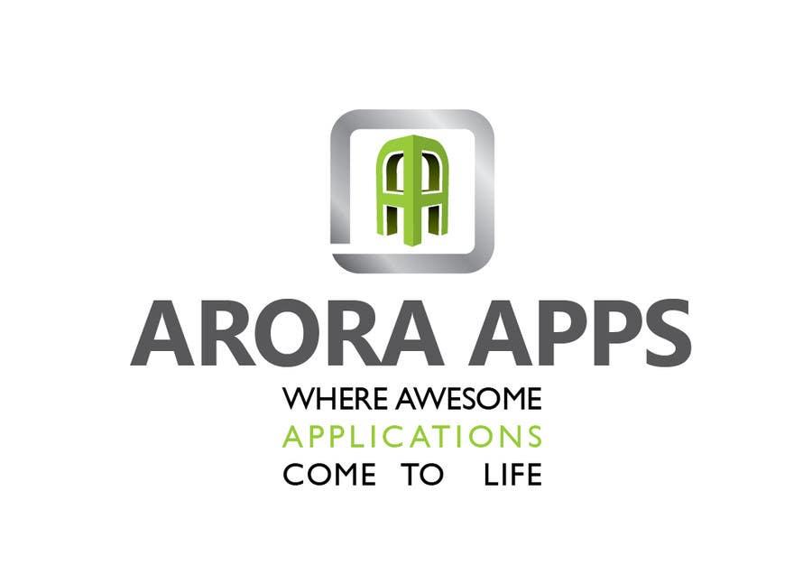 Inscrição nº                                         16                                      do Concurso para                                         Logo Design for Arora Apps