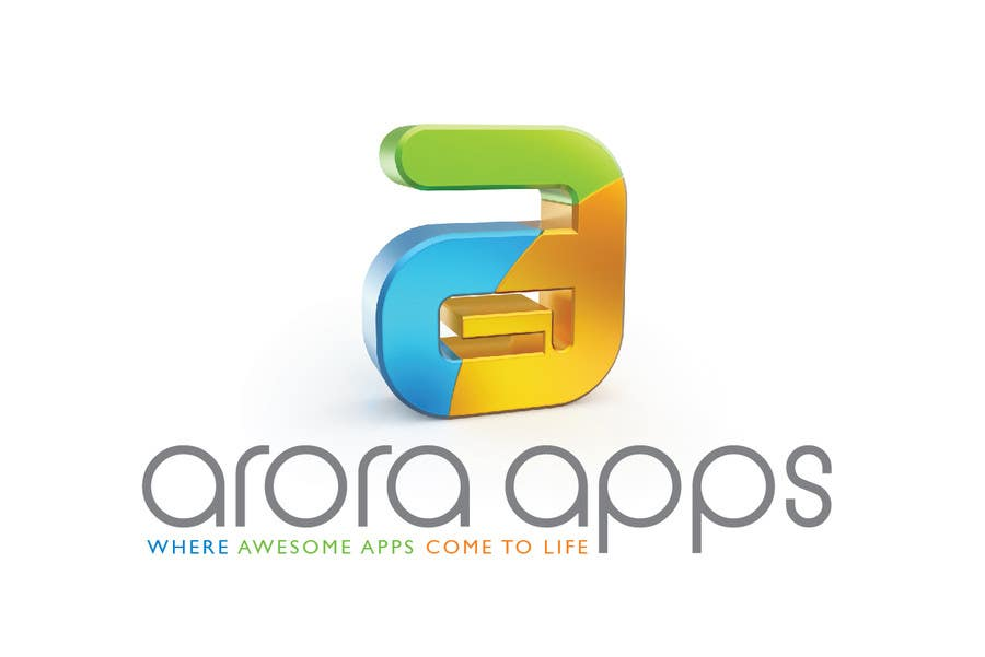 Inscrição nº                                         58                                      do Concurso para                                         Logo Design for Arora Apps