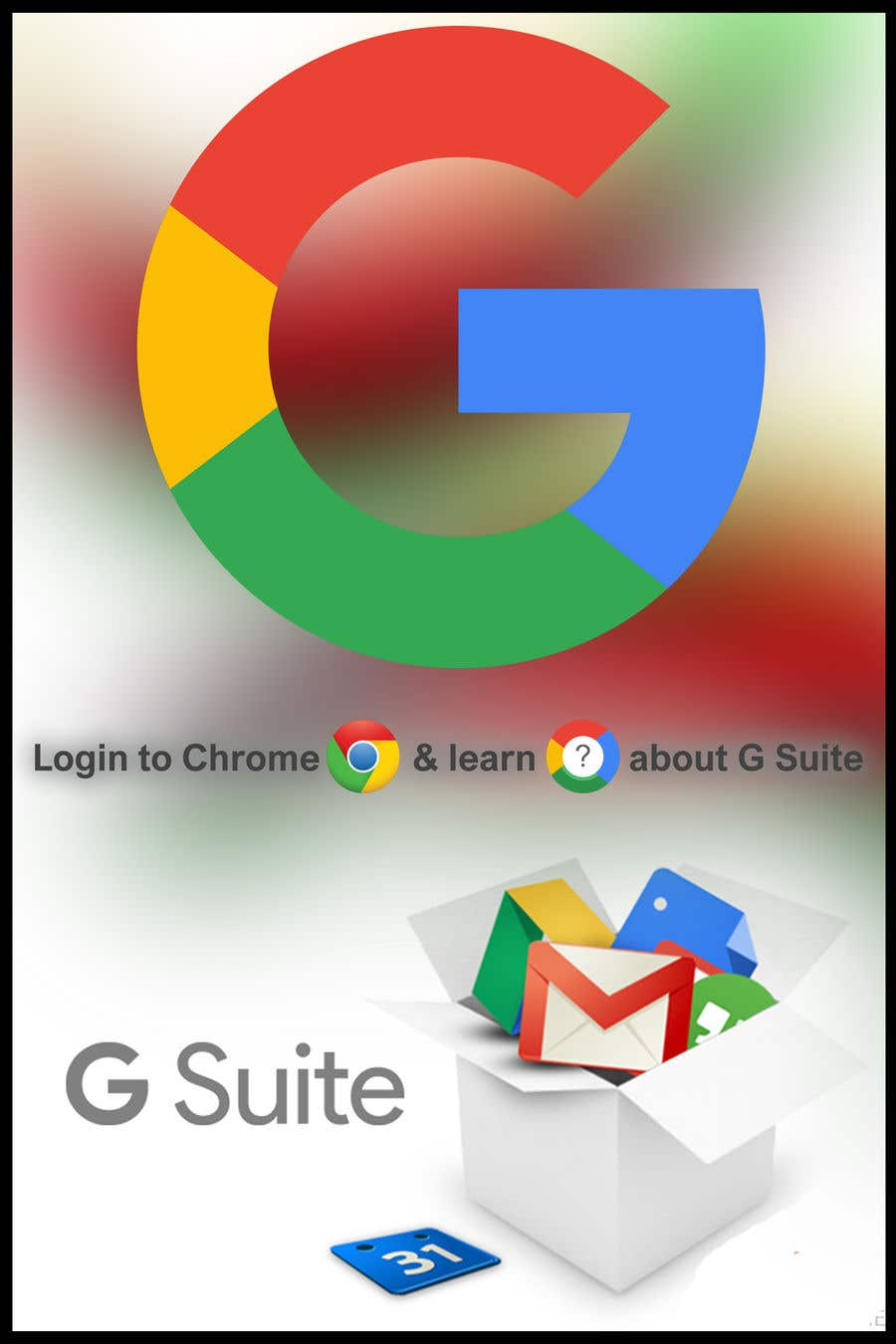 Contest Entry #6 for Google G Suite Promotional campaign posters