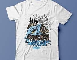 #11 cho Whitewater style t-shirt design bởi uda89