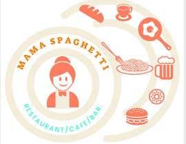 """Nro 19 kilpailuun Make me a logo for """"Mama Spaghetti"""" Restaurant/Cafe/Bar käyttäjältä ahmedanonna1"""