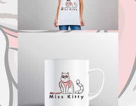 """Nro 99 kilpailuun I need a logo created for my brand call """" Miss Kitty is Crazy"""". käyttäjältä FinoDesignINK"""