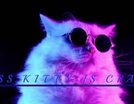 """Nro 98 kilpailuun I need a logo created for my brand call """" Miss Kitty is Crazy"""". käyttäjältä TahaNawaz"""