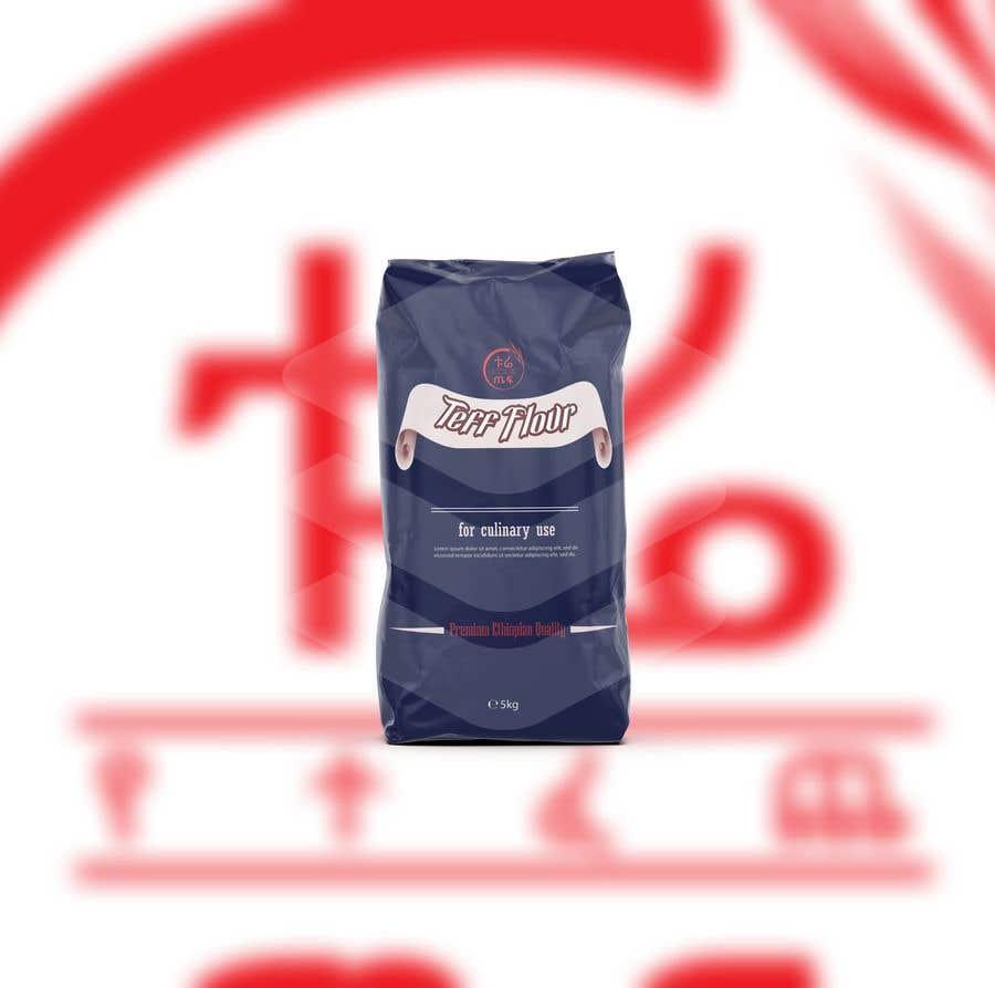 Penyertaan Peraduan #52 untuk Packaging for Teff flour.