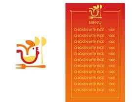 #2 for Logo and menu  for chicken fast food restaurant. Similar to attached by SAIDFATAH