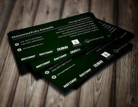 #196 for Design a premium looking and attractive personal business card by tonmoy6