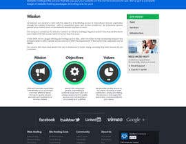 nº 68 pour Website Design for webhosting company par mughikrish