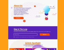 #4 for UX redesign of homepage into a 'landing page' by Darya5669