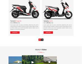 #63 cho User Interface design (landing page design) - for a motorcycle rental company bởi shakilaiub10