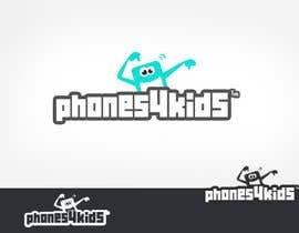 #154 for Logo Design for Phones4Kids by lifeillustrated