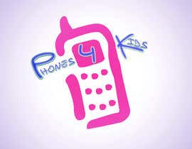 #18 para Logo Design for Phones4Kids de hiddenul