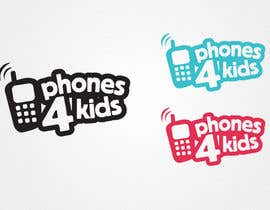 #88 pentru Logo Design for Phones4Kids de către marques