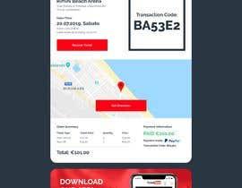 #84 untuk Template HTML email for ticket's order oleh bcs89