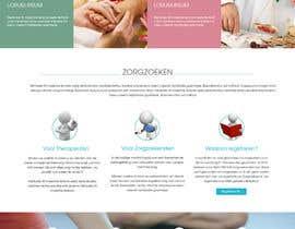 #7 untuk Design a homepage for zorgzoeken.nl (care seeker) oleh ngscoder
