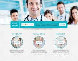 #18 untuk Design a homepage for zorgzoeken.nl (care seeker) oleh Ankur0312