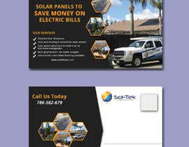 #53 for A postcard to solicite Solar projects by Rasel1712