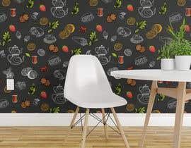 #90 untuk wall paper design for my coffee shop and beakry oleh winkeltriple