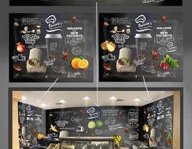 #54 untuk wall paper design for my coffee shop and beakry oleh rajasekaran1753