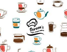 #89 untuk wall paper design for my coffee shop and beakry oleh oumomenmr