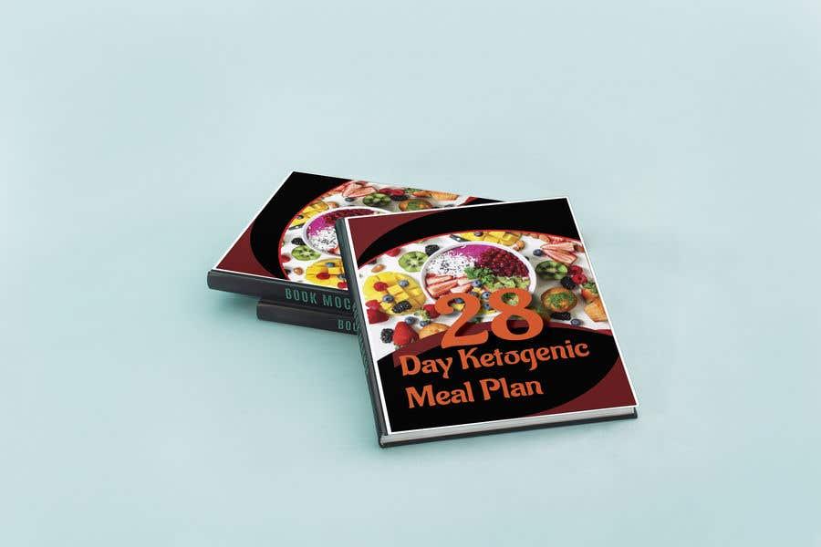 "Конкурсная заявка №17 для create an ebook cover design for my ""28 Day Ketogenic Meal Plan"" in 3D"