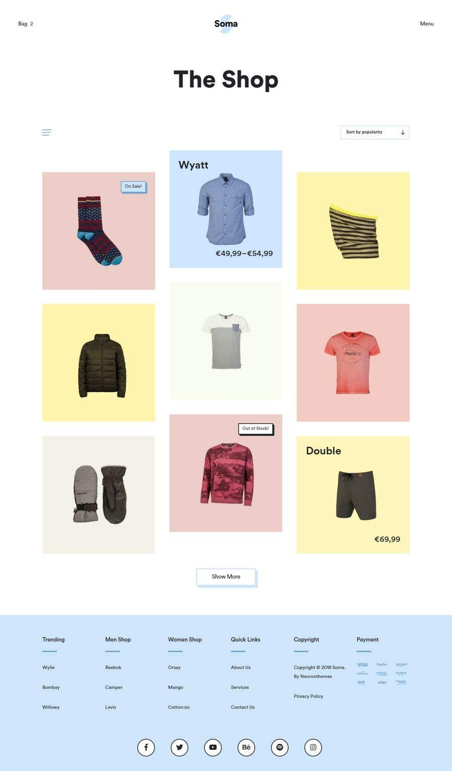Kilpailutyö #26 kilpailussa Create a new frontend layout