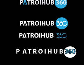 Nro 13 kilpailuun I want a simple design for PatrolHub360.  I want a solid white color version and a light blue version käyttäjältä sima360