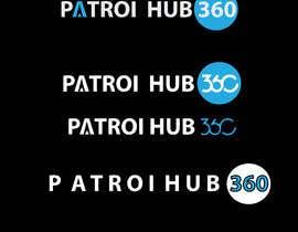 Nro 14 kilpailuun I want a simple design for PatrolHub360.  I want a solid white color version and a light blue version käyttäjältä sima360