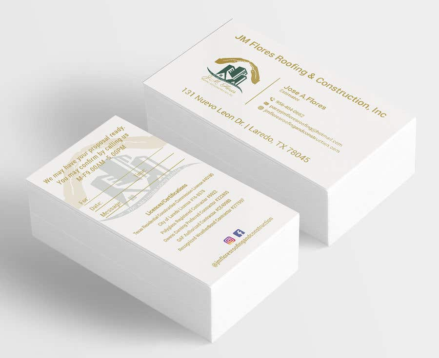 Contest Entry #226 for Graphic Design Business Card - Vertical or Horizontal Samples
