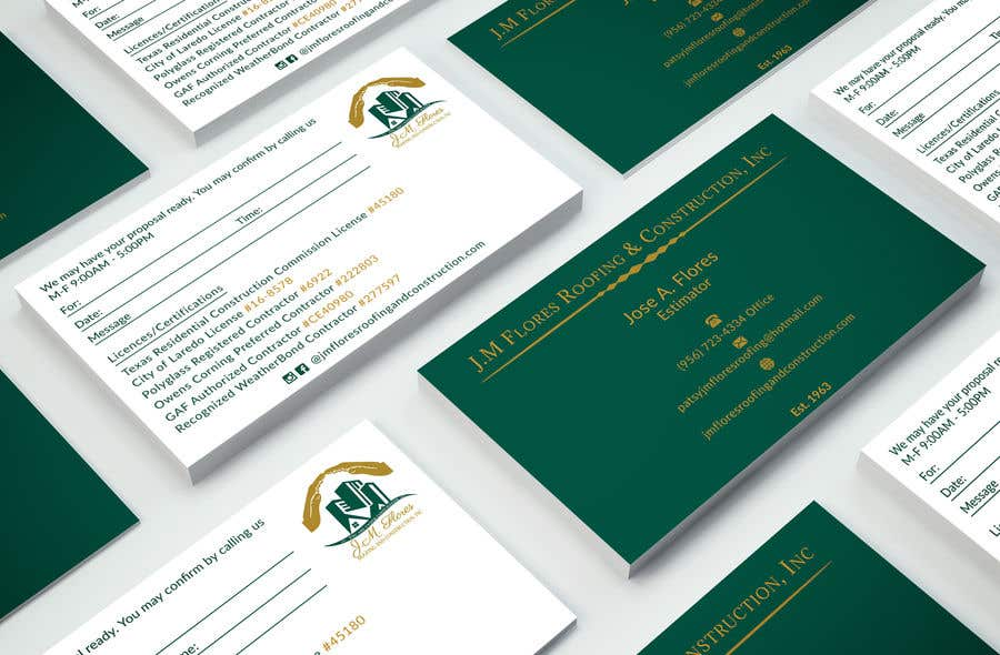 Contest Entry #287 for Graphic Design Business Card - Vertical or Horizontal Samples