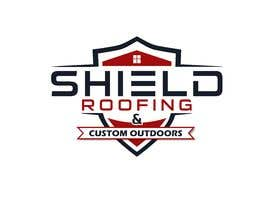 nº 124 pour Shield Roofing Logo par nayangazi987