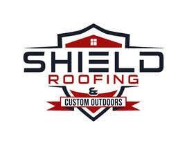 nº 144 pour Shield Roofing Logo par Ripon8606