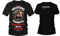 Graphic Design Kilpailutyö #37 kilpailuun Creative Round Neck Design T-shirt to sell ( Malaysian )