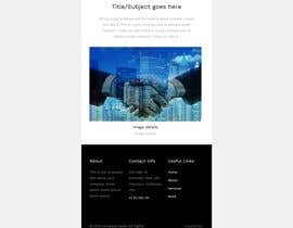 #19 for Design HTML email template af ashursoni