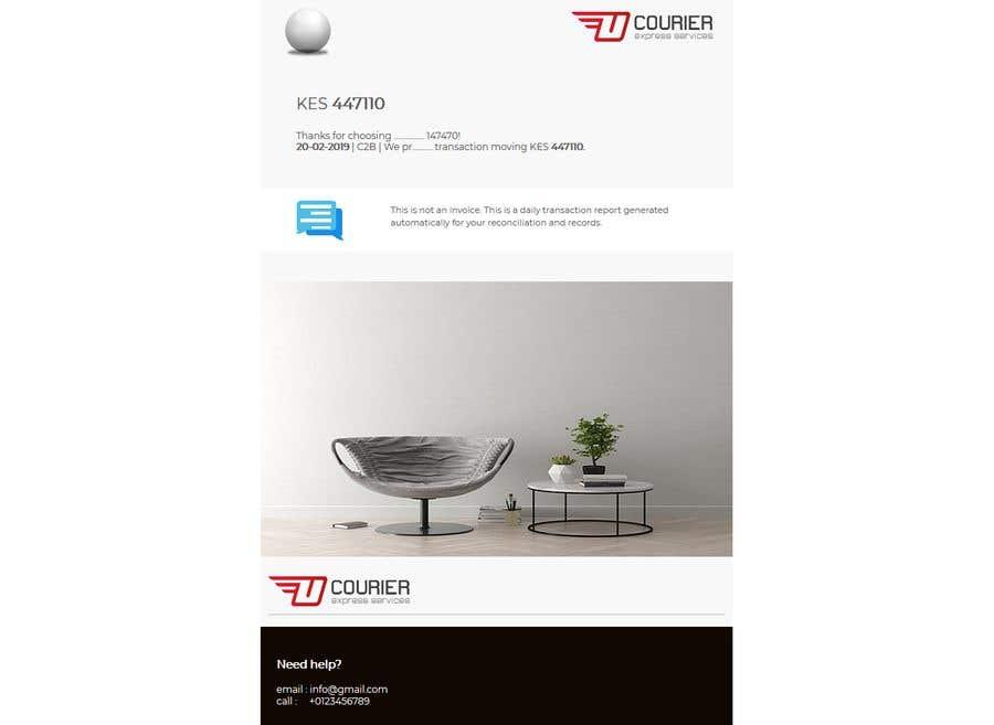 Konkurrenceindlæg #28 for Design HTML email template