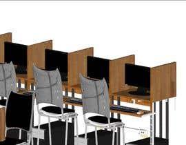 #8 for Internet Cafe Baccarat Game Online Interior & Exterior 3D Rendering Design by arqjose8