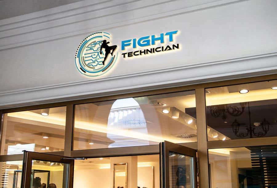 Penyertaan Peraduan #228 untuk Tech Themed Fight Blog Logo Design