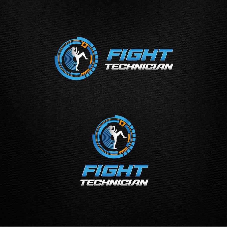 Penyertaan Peraduan #230 untuk Tech Themed Fight Blog Logo Design