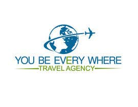 #40 cho Design a logo for youbeeverywhere travel agency bởi farabiislam888