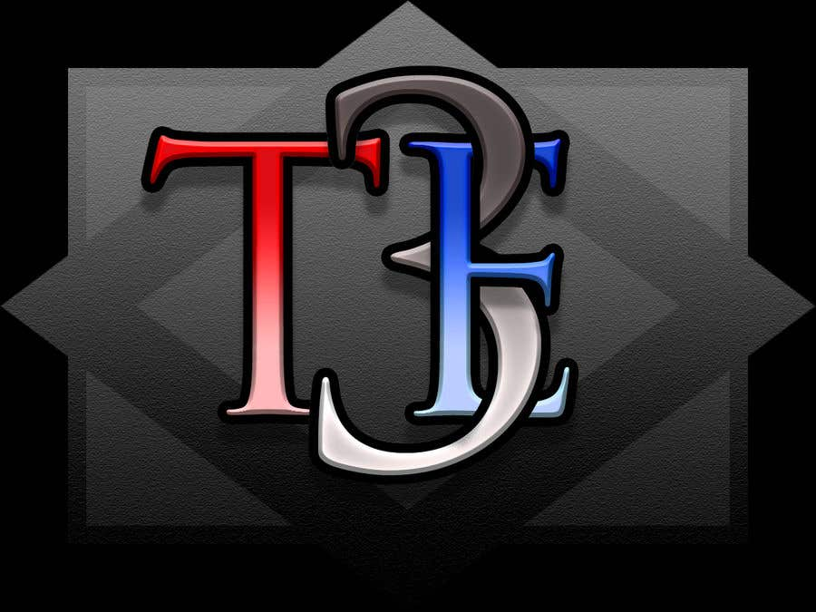 Contest Entry #119 for Logo with word: T3E using the following colors: white, red, light blue