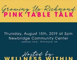#6 cho Pink Table Talk Flyer bởi jessicamundo