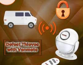 #13 для Facebook Ad Creative For Van Alarm Product от Suptechy