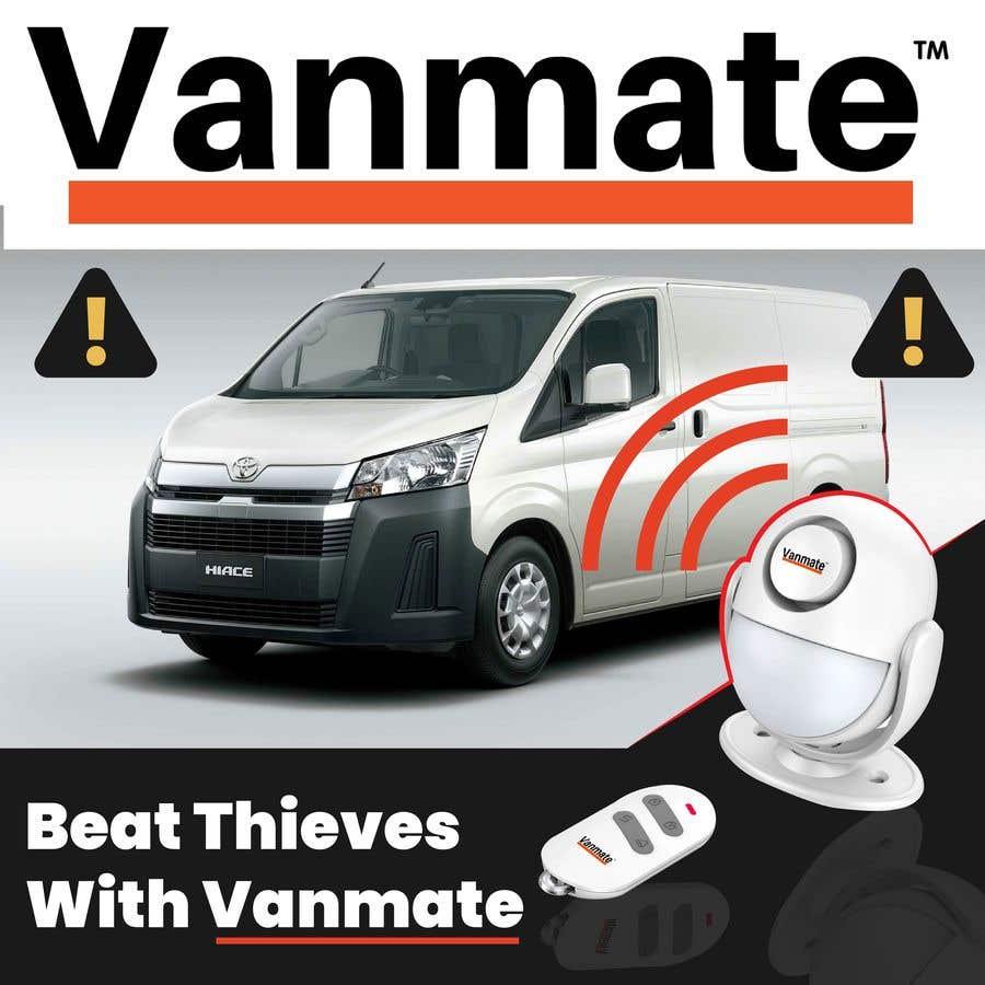 Конкурсная заявка №2 для Facebook Ad Creative For Van Alarm Product