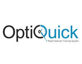 nº 22 pour Logo Design for OptiQuick - Rapid Optician Training System par soniadhariwal