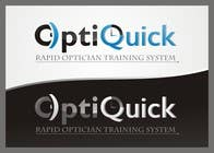 Logo Design for OptiQuick - Rapid Optician Training System için Graphic Design18 No.lu Yarışma Girdisi
