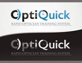 #18 para Logo Design for OptiQuick - Rapid Optician Training System por paramiginjr63