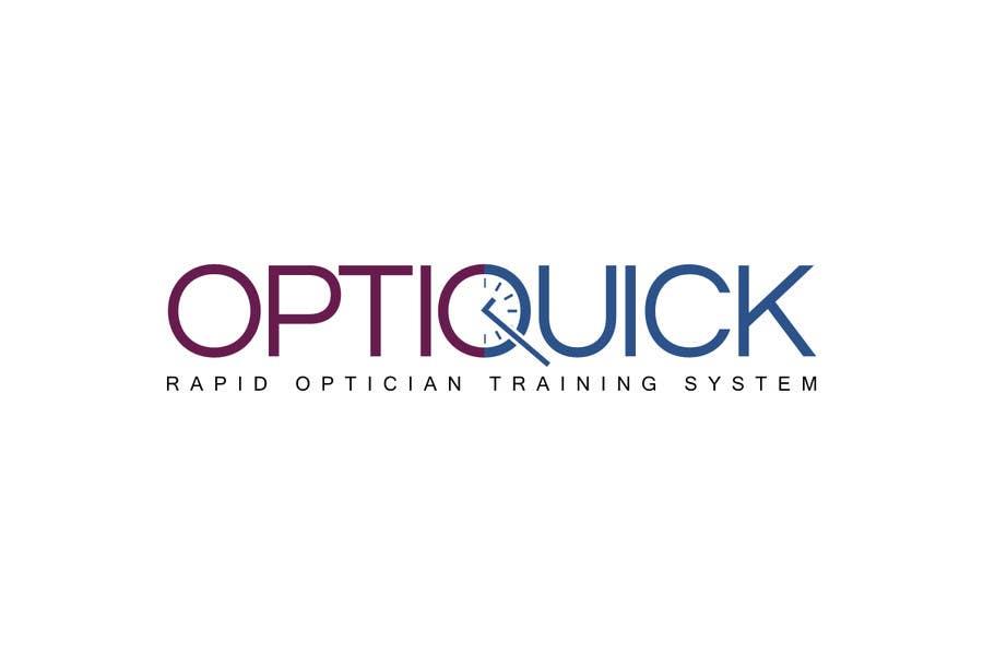 Penyertaan Peraduan #43 untuk Logo Design for OptiQuick - Rapid Optician Training System