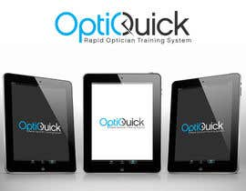 #17 para Logo Design for OptiQuick - Rapid Optician Training System por gfxbucket