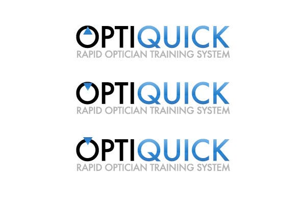 Penyertaan Peraduan #23 untuk Logo Design for OptiQuick - Rapid Optician Training System