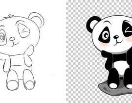 #9 для Draw a Panda, that winks от gumelarkrisna1